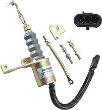 New Premium Fuel Shut Off Solenoid fits Deutz, Bosch, RSV, Perkins, Syncro Start 3932017 3974947 SA-3742-12 1751ES, Applications 12 Volt Pigtail Left Hand Mount Continous Duty 3 Terminal