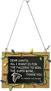 atlanta falcons christmas ornaments