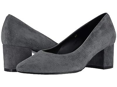 Vaneli Tertia (Grey Suede/Gunmetal Nailheads) High Heels