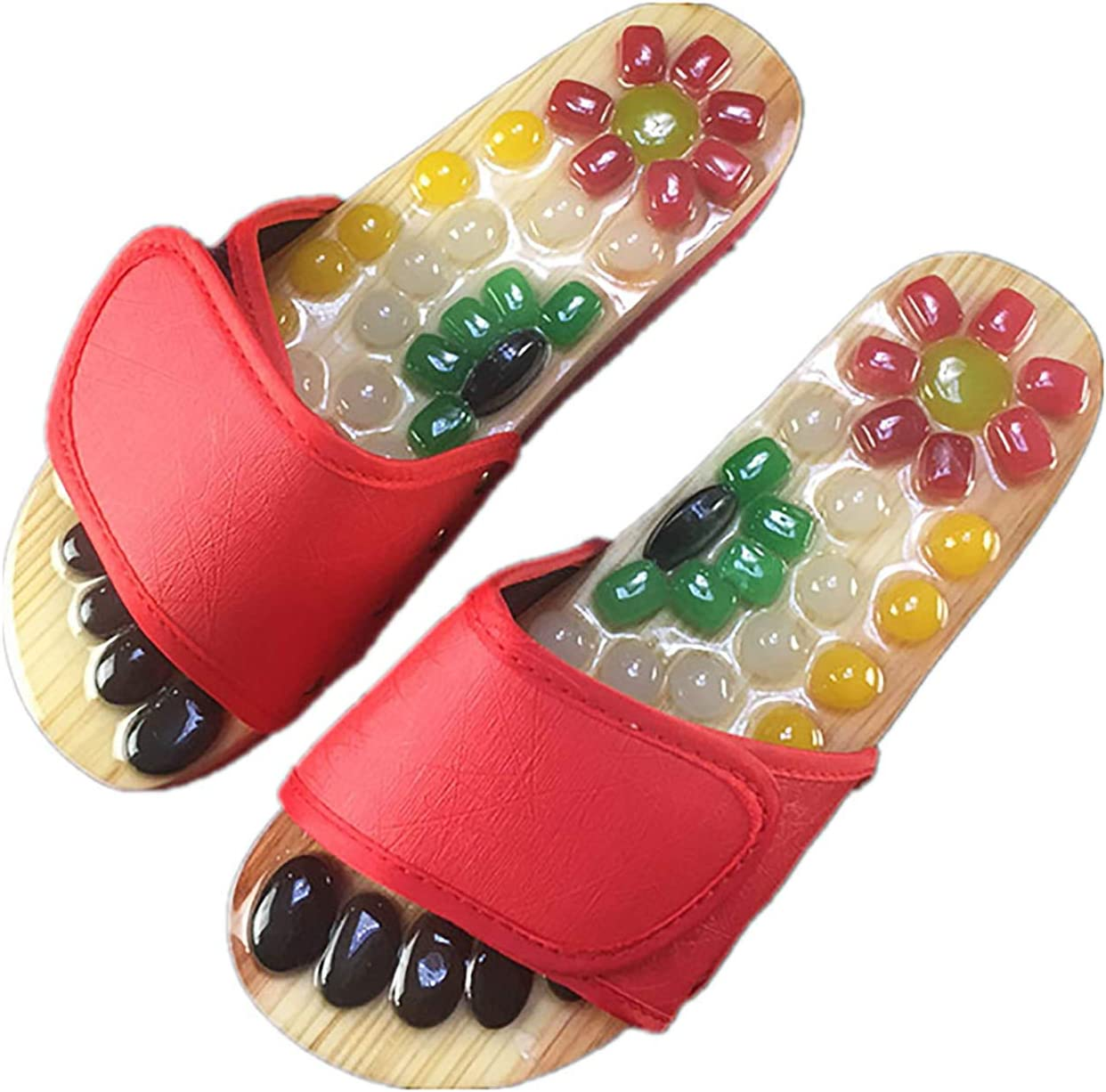 AW-SJ Foot Acupoint Massage Shoes Cobblestone Slippers Popular brand in NEW the world