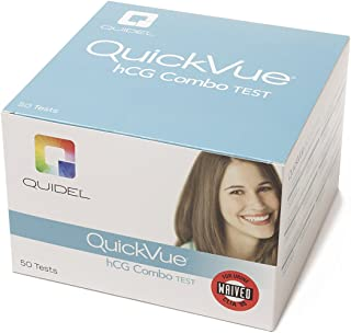 QuickVue hCG Combo Test (Pack of 50)