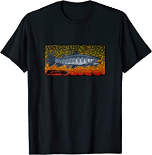 Contemporary Brook Trout Fly Fishing T-Shirt Derek DeYoung