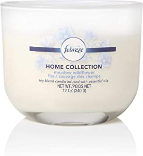All-Natural Soy Wax Relaxation Essential Oil Infused Toxin Free Mini Summer Meadow Candle Odor Eliminating Spring Candle