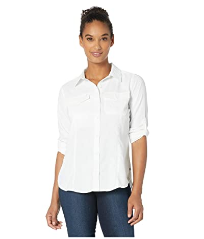 Royal Robbins Expedition Dry Long Sleeve (White) Women