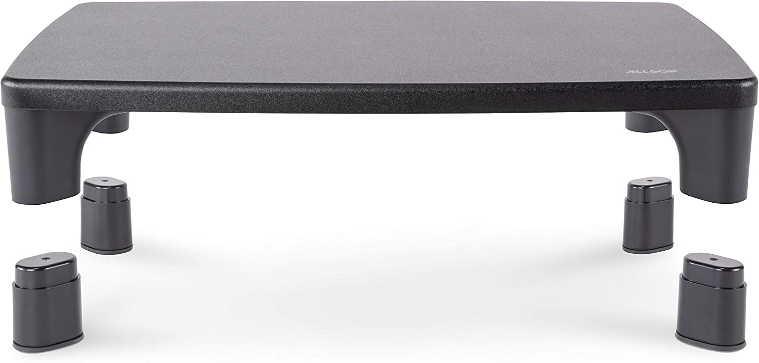 Allsop Hi-Lo Adjustable Monitor Stand. Sturdy Wood Surface that offers two height options 2.8