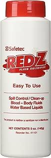 Safetec Red-Z Fluid Control Solidifier, Shaker Top Bottle, 5oz, Each