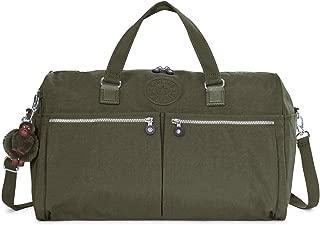Itska Duffle, Essential Travel Bag, Multi Pocket, Zip Closure
