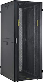 Electriduct E-PRO 42U Server Cabinet with Metal Mesh Doors - 24