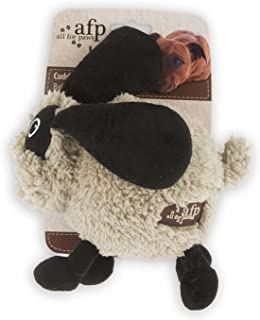 All for Paws Assorted Lamb Cuddle Ball Bouncers for Dogs, 6-Inch