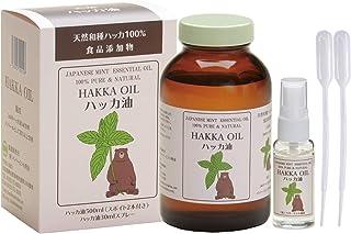 【食品添加物・日本製】天然ハッカ油500ml+30mlスプレーセット