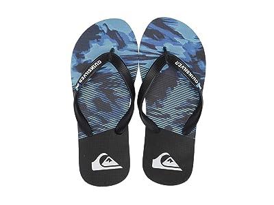 Quiksilver Kids Molokai Night Marcher (Toddler/Little Kid/Big Kid) (Black/Black/Blue) Boys Shoes