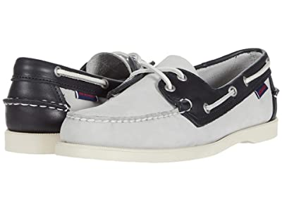 Sebago Spinnaker (Light Grey/Navy/White) Men