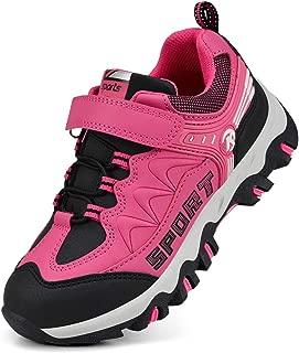 Boys Girls Hiking Shoes Waterproof Kids Winter Boots Anti-Slip Outdoor Running Shoes
