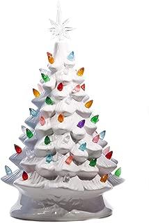 Best porcelain christmas tree white Reviews