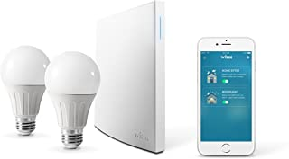 Wink Bright Smart Home Lighting Starter Kit with Wink Hub 2, SYLVANIA SMART+ bulbs, Compatible with Amazon Alexa and Googl...