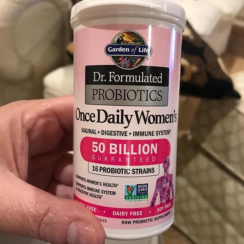 金盒特价 Garden of Life 生命花园 Dr. Formulated 女士每日益生菌 30粒 4.5折$19.56 海淘转运到手约¥135