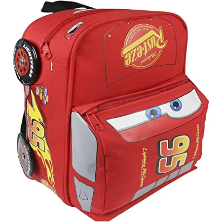 Multicolor Cars Backpack Capacity 30 x 8 x 28 cm Childrens Backpack 30 cm