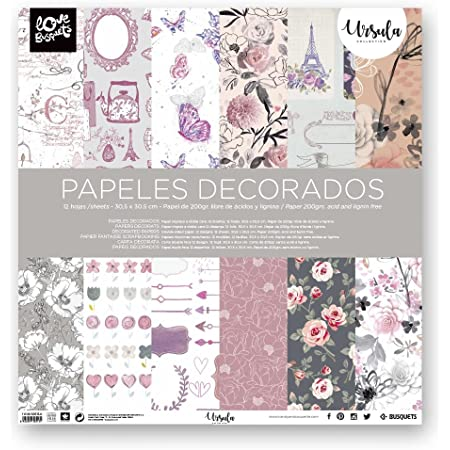 Busquets Papier Ursula Scrapbook