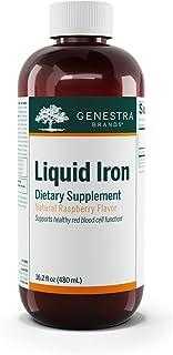 Genestra Brands - Liquid Iron - Colloidal Mineral Supplement - 16.2 fl. oz. - Natural Raspberry Flavor