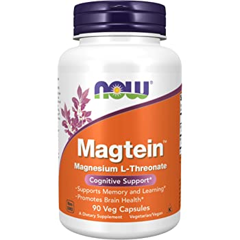 Now Foods, Magtein, Cognitive Support, 90 Veggie Caps