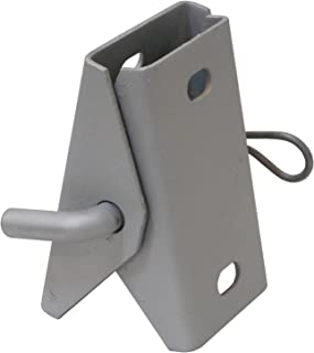 Dock Edge Stationary Dock 7/16-Inch Punch 2 Hole Galvanized Connector Hinge, 1/8-Inch