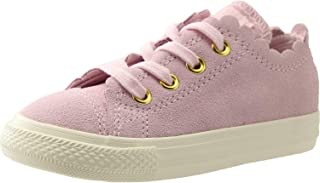 35ced9cf4224 Converse Kids Baby Girl s Chuck Taylor¿ All Star¿ Scalloped Suede - Ox ( Infant