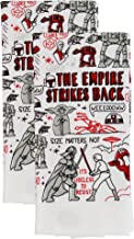 Disney Star Wars 100% Cotton Kitchen Towels - Set of 2 Towels - Perfect for Drying Dishes and Hands - Machine Washable Kit...