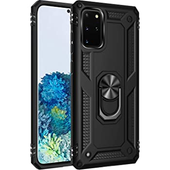 Samsung Galaxy s20 Plus Case, [ Military Grade ] 15ft. Drop Tested Protective Case | Kickstand | Compatible with Samsung Galaxy s20 Plus -Black