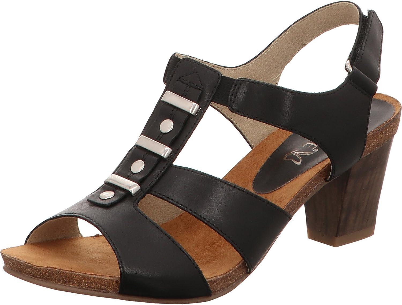 CAPRICE Damen Damen Damen Sandaletten 9-9-28309-20 022 schwarz 403580  2f7606
