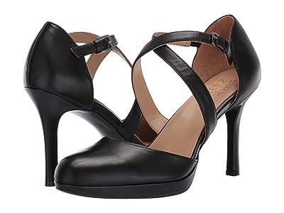 Naturalizer Cruzen (Black Leather) Women