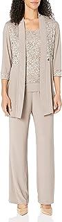 R&M Richards Women's Lace Pant Set
