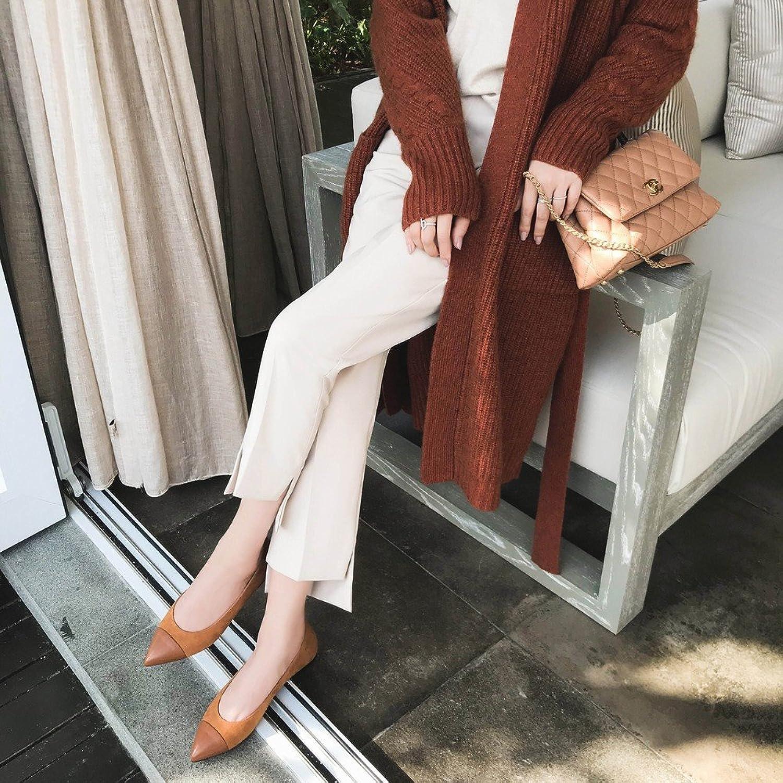 DHG Tip Farbabstimmung Farbabstimmung Flache Schuhe Flachen Flachen Schuhe Flache Schuhe,Ein,38  2018 speichern
