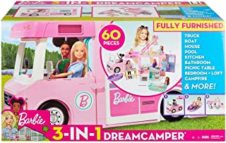 ​Barbie 3-in-1 DreamCamper Vehicle, approx. 3-ft,...