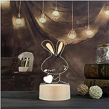 CHENPINBH Nachtlampje Nachtlampje Nachtlampje Nachtlampje Nachtlampje Slaapkamer Kid Licht Gift (Kleur: Konijn)