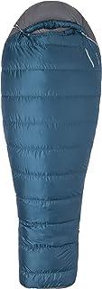 Marmot Ironwood 20 Long Mummy Lightweight Sleeping Bag, 20-Degree Rating, Denim/Steel Onyx