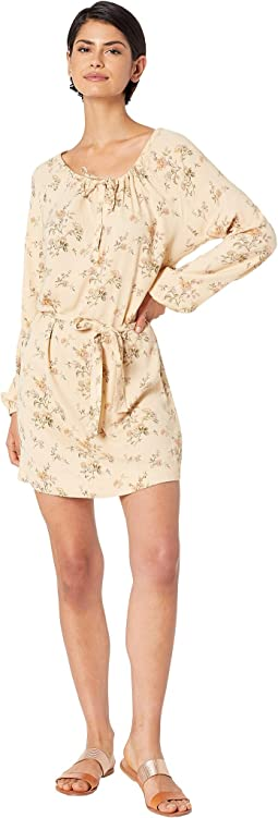 Heirloom Wovens High-Low Shirttail Dress with Belt