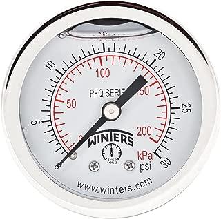 Bhogart Pressure Gauge 30 Hg-350 PSI