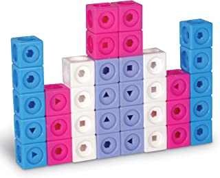Learning Resources LSP9331-UK MATHLINK Cubes Early Maths Activity Set-FANTASTICALS, Multi