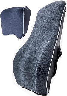 Reposacabezas Cintura Coche Bolsa De Aire Ajustable Cojín De Asiento De Espuma De Memoria Respaldo Almohada para El Cuello del Coche Almohada Todas Las Estaciones