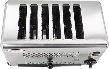 Hakka Heavy-Duty Switchable Bread 6-Slice Commercial Toaster