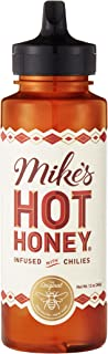 Mike's Hot Honey, 12 oz Squeeze Bottle (1 Pack), Honey with a Kick, Sweetness & Heat, 100% Pure Honey, Shelf-Stable, Gluten-Free & Paleo