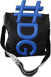 Negro Azul #DG Hombres Correa De Hombro Bolso De Compras