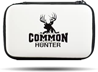Common Hunter Weather Resistant Carrying Case for Trail Camera Viewers, SD Cards, Electronics, and Other Hunting Products