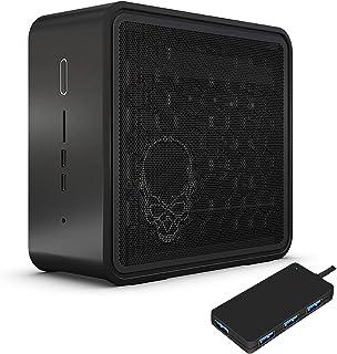 Intel NUC 9 NUC9i7QNX Gaming and Entertainment Desktop Black (Intel i7-9750H 6-Core, 32GB RAM, 4TB PCIe SSD, Intel UHD 63...