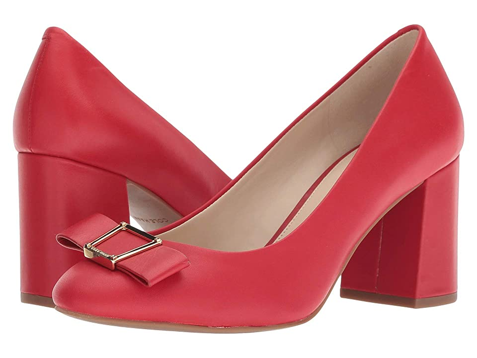 Cole Haan Emory Bow Pump (Barbados Cherry Leather) Women