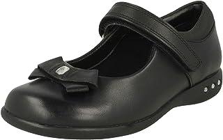 Clarks Prime Skip Mary Jane Chaussures d'école pour fille Noir