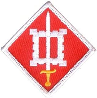 EagleEmblems PM0128 Patch-Army,018TH Engineer (3'')