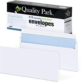 Quality Park #10 Self-Seal Security Envelopes, Security Tint and Pattern