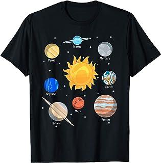 Pianeti del nostro sistema solare Grafica carina Maglietta