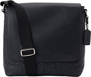 2794a643f6 Coach Charles Small Messenger In Signature Crossgrain Leather Midnight Blue  F72220